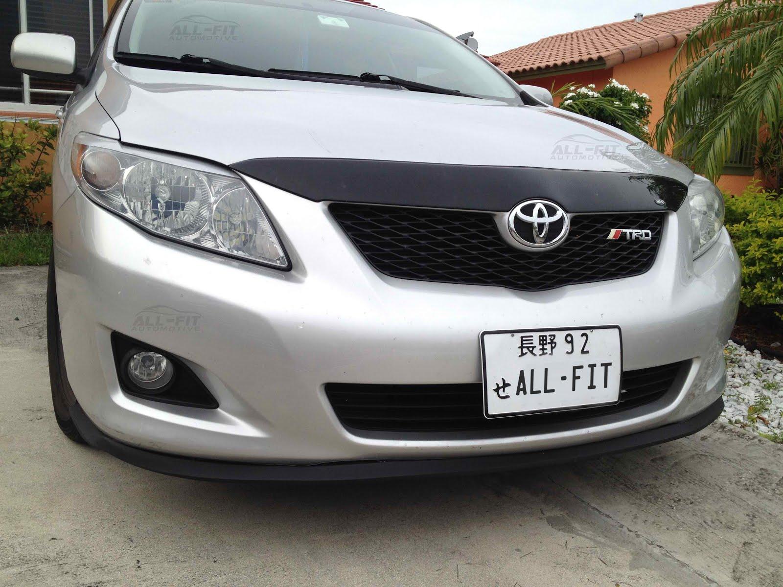 Toyota Corolla Front Lip Kit