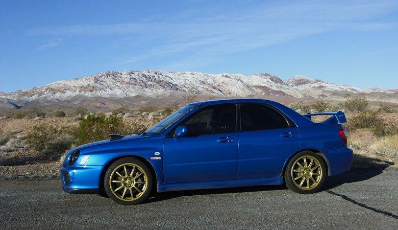 lowered modified car