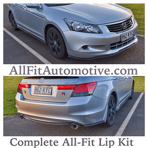 2003 Honda Accord lip kit