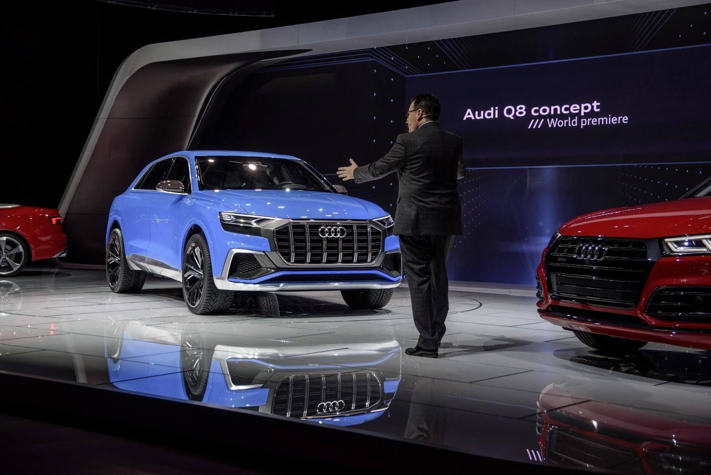 World Premiere | Audi Q8 Concept