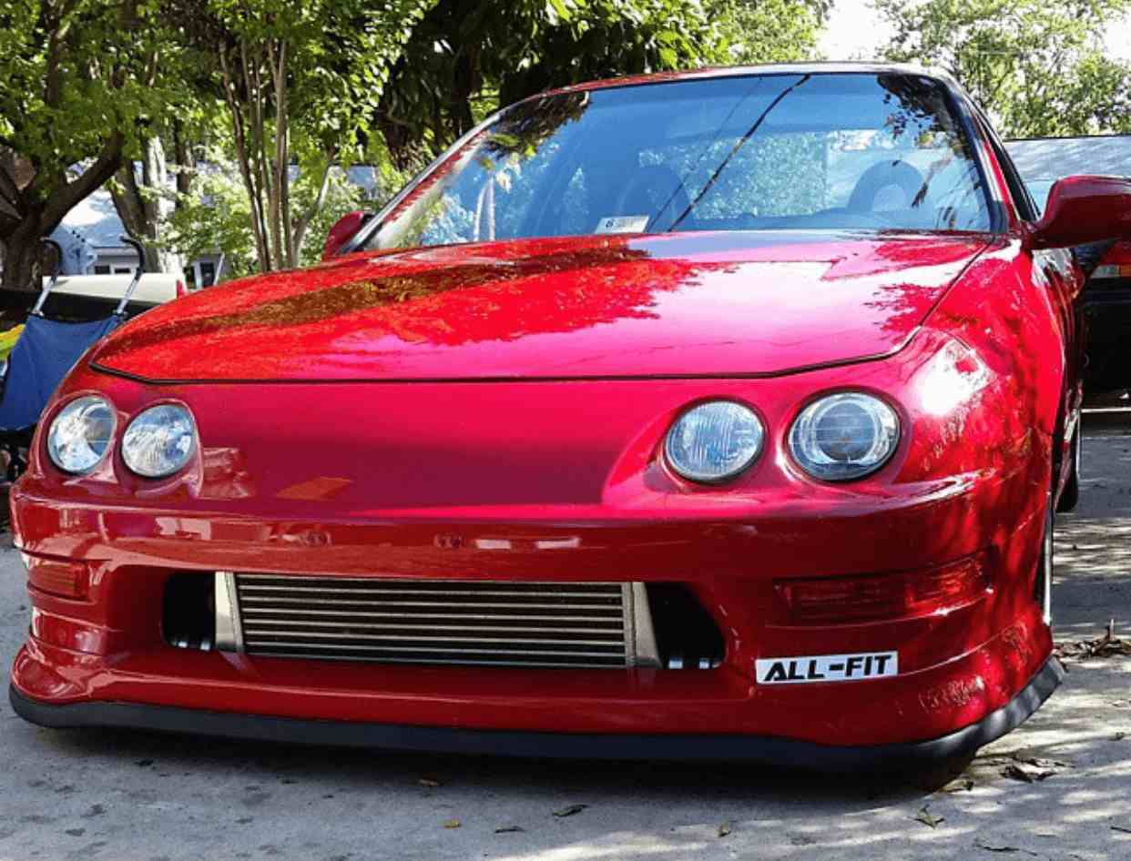 Acura Integra lip kit