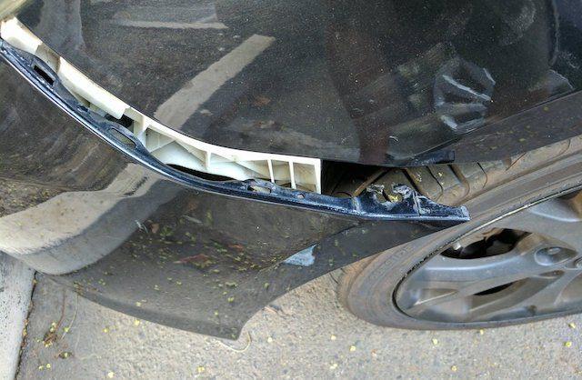 Broken clip
