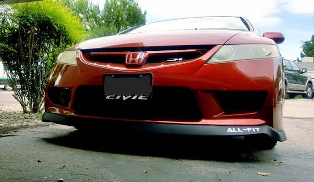 Civic lip