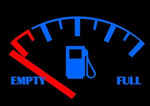 Hyndai Veloster Fuel Indicator