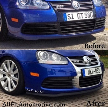 Golf 4 bumper lip