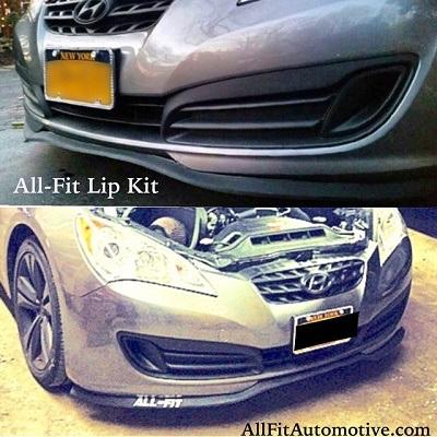 Hyundai Genesis front lip