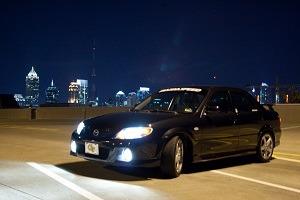 Mazdaspeed Protege Front Lip Kit