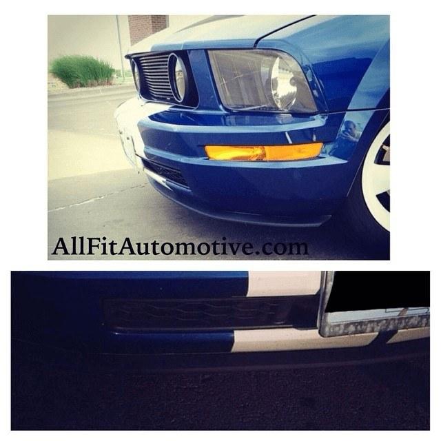 Mustang lip kit