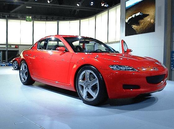 Red Mazda RX-8