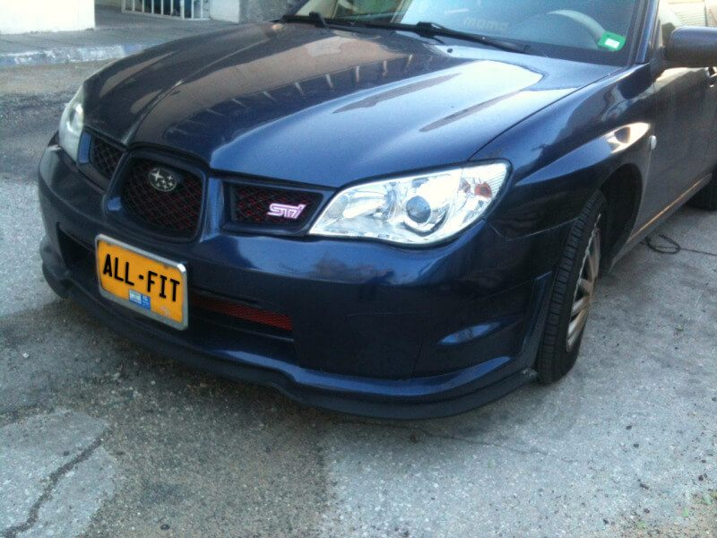Subaru WRX Lip Kit
